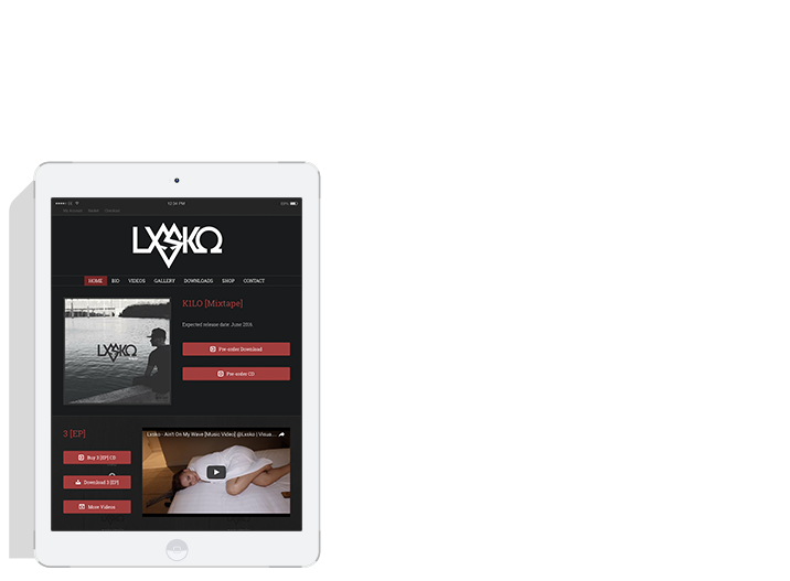 We make tablet friendly websites