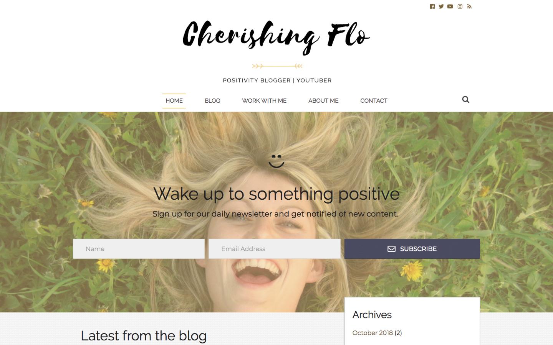 Cherishing Flo