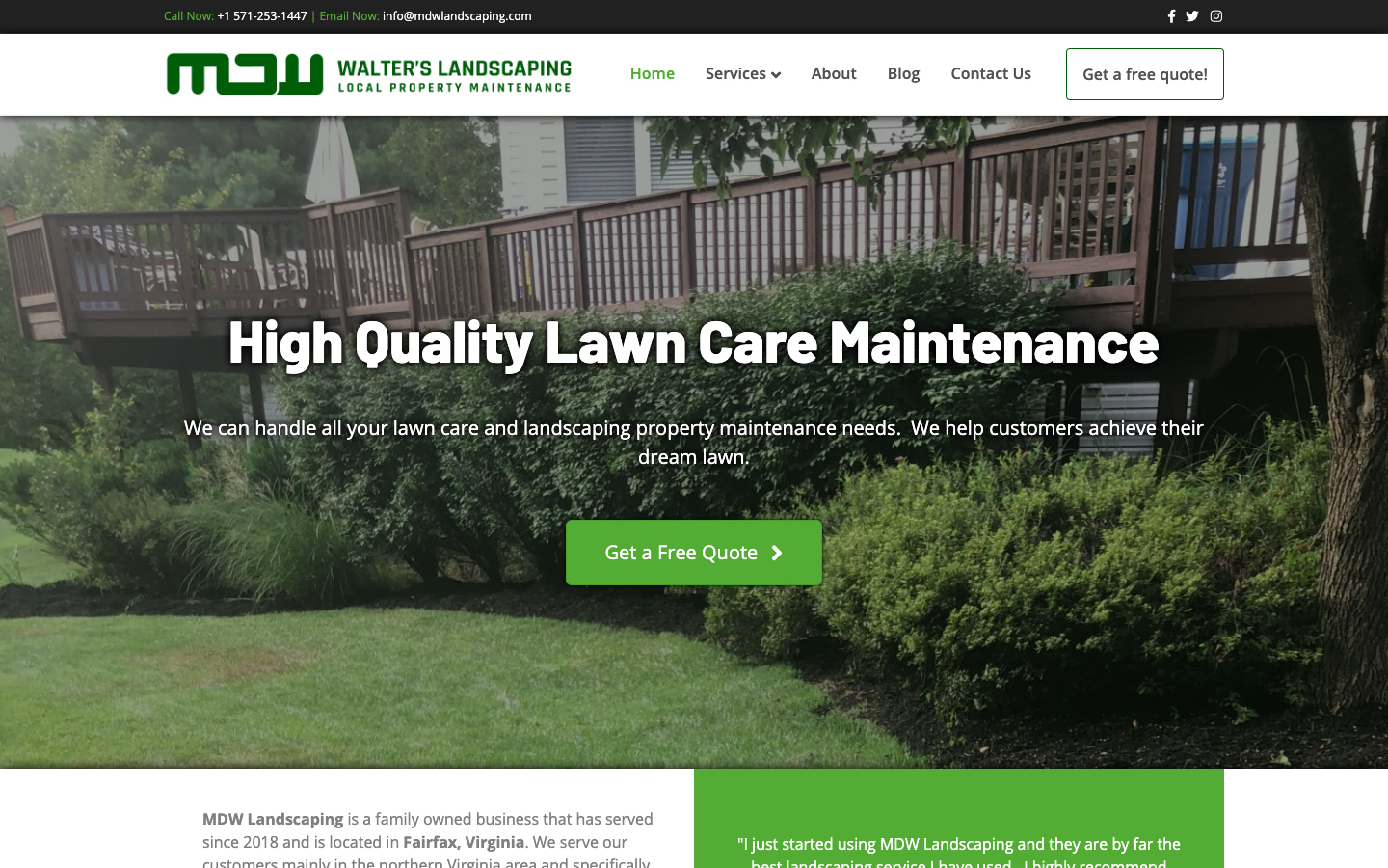 MDW Landscaping